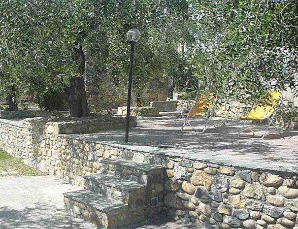 Giardino attrezzato | Servizi Villaggio Borgoverde Imperia