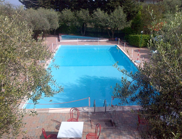 Open air pools | Facilities  Villaggio Borgoverde Imperia