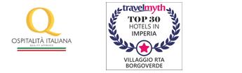 Logo di Ospitalità Italiana e TravelMyth